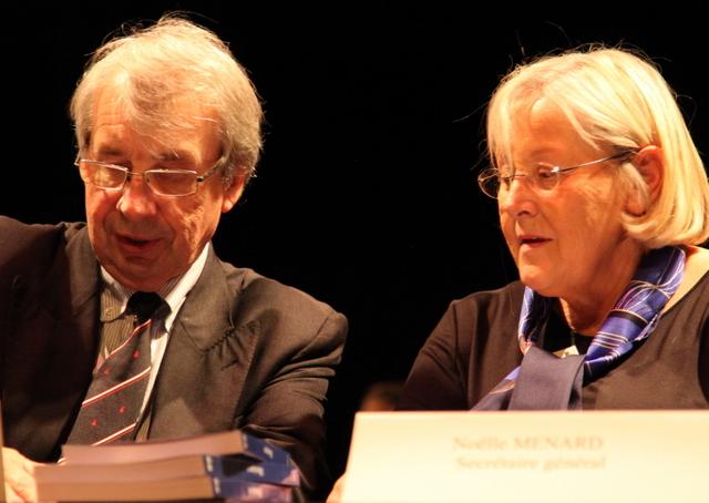 Jean-Yves Paumier (Chancelier) & Noëlle Ménard (Vice-chancelière)