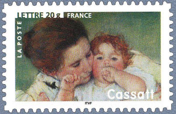 Timbre Mary Cassatt